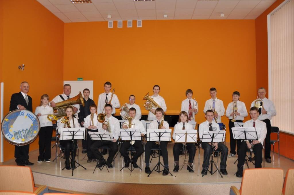 Gargždų vaikų muzikos mokyklos pučiamųjų instrumentų orkestras
