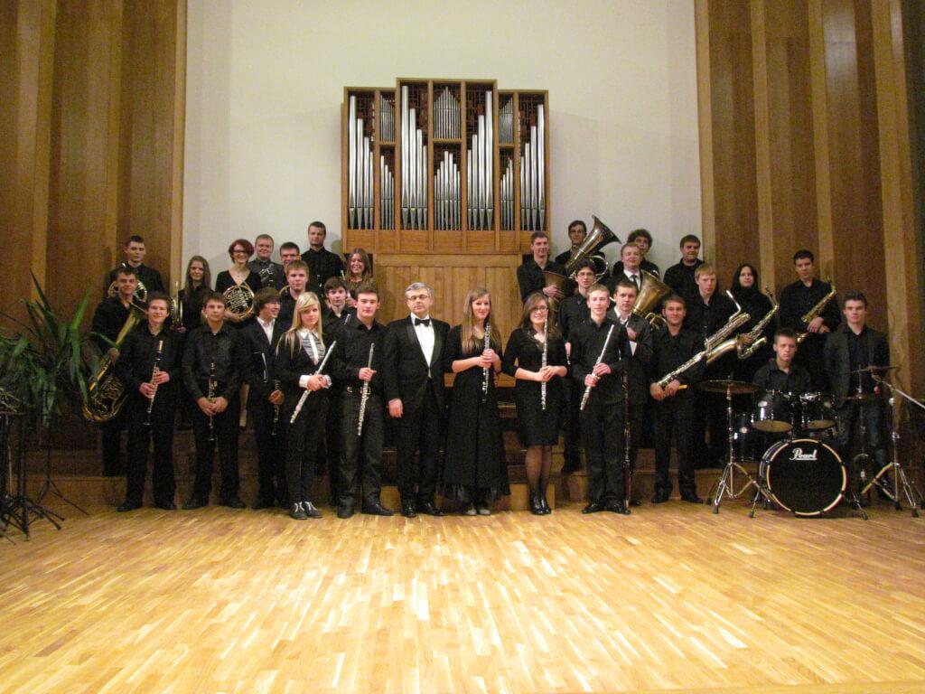 Kauno Juozo Gruodžio konservatorijos pučiamųjų instrumentų orkestras