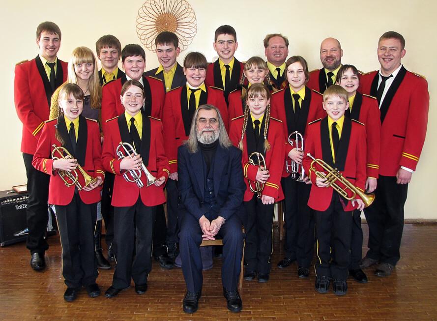 Pajiešmenių kaimo bendruomenės pučiamųjų orkestras