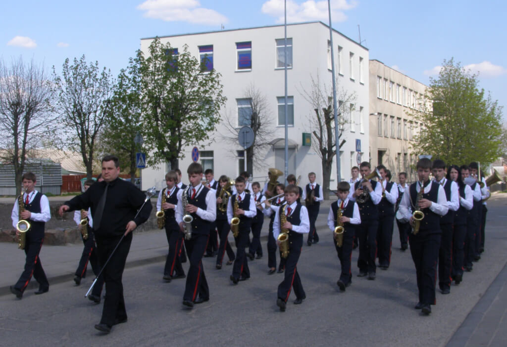Šalčininkų Stanislavo Moniuškos menų mokyklos pučiamųjų instrumentų orkestras
