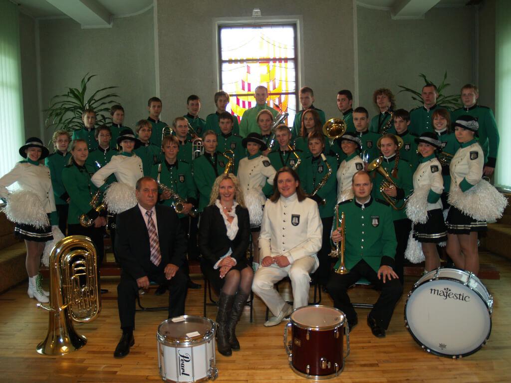 Šilutės r. vaikų meno mokyklos fanfarinis orkestras PAMARYS