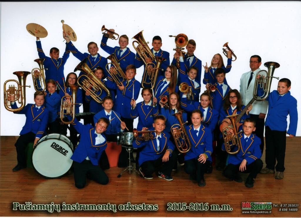 """Tauragės """"Šaltinio"""" progimnazijos pučiamųjų instrumentų orkestras """"Šaltinis"""""""
