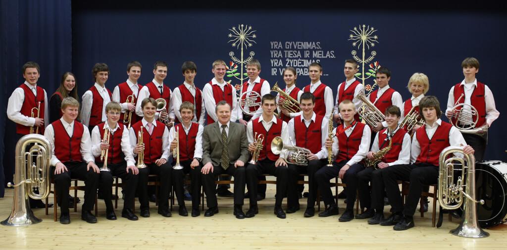 Utenos Adolfo Šapokos gimnazijos ir Aukštakalnio pagrindinės mokyklos pučiamųjų instrumentų orkestras