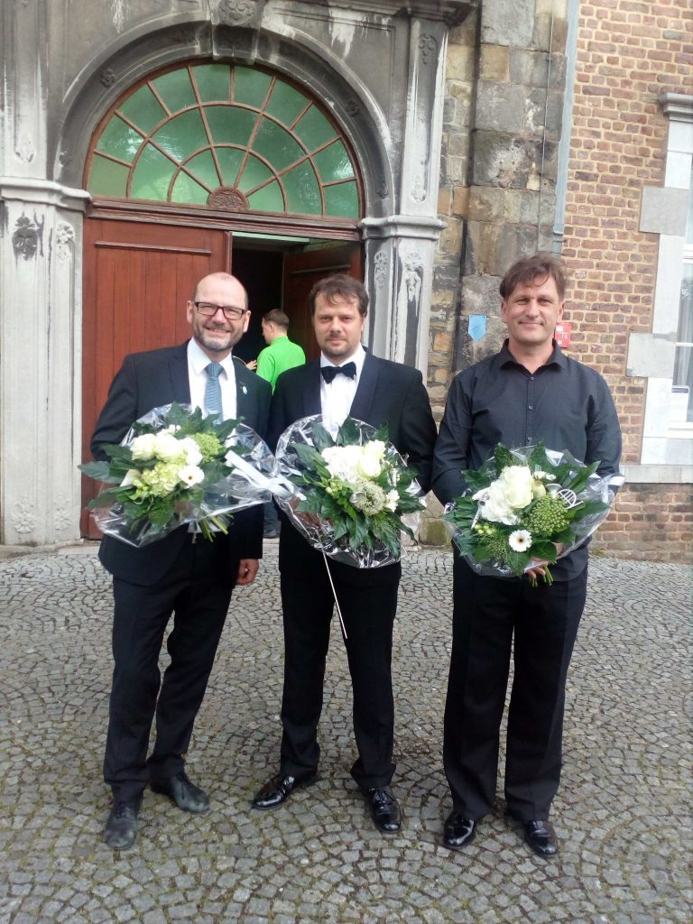 WMCKerkrade-2017.Dirigentai&vargonininkasPo koncerto