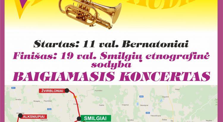 plakatas Smilgiai