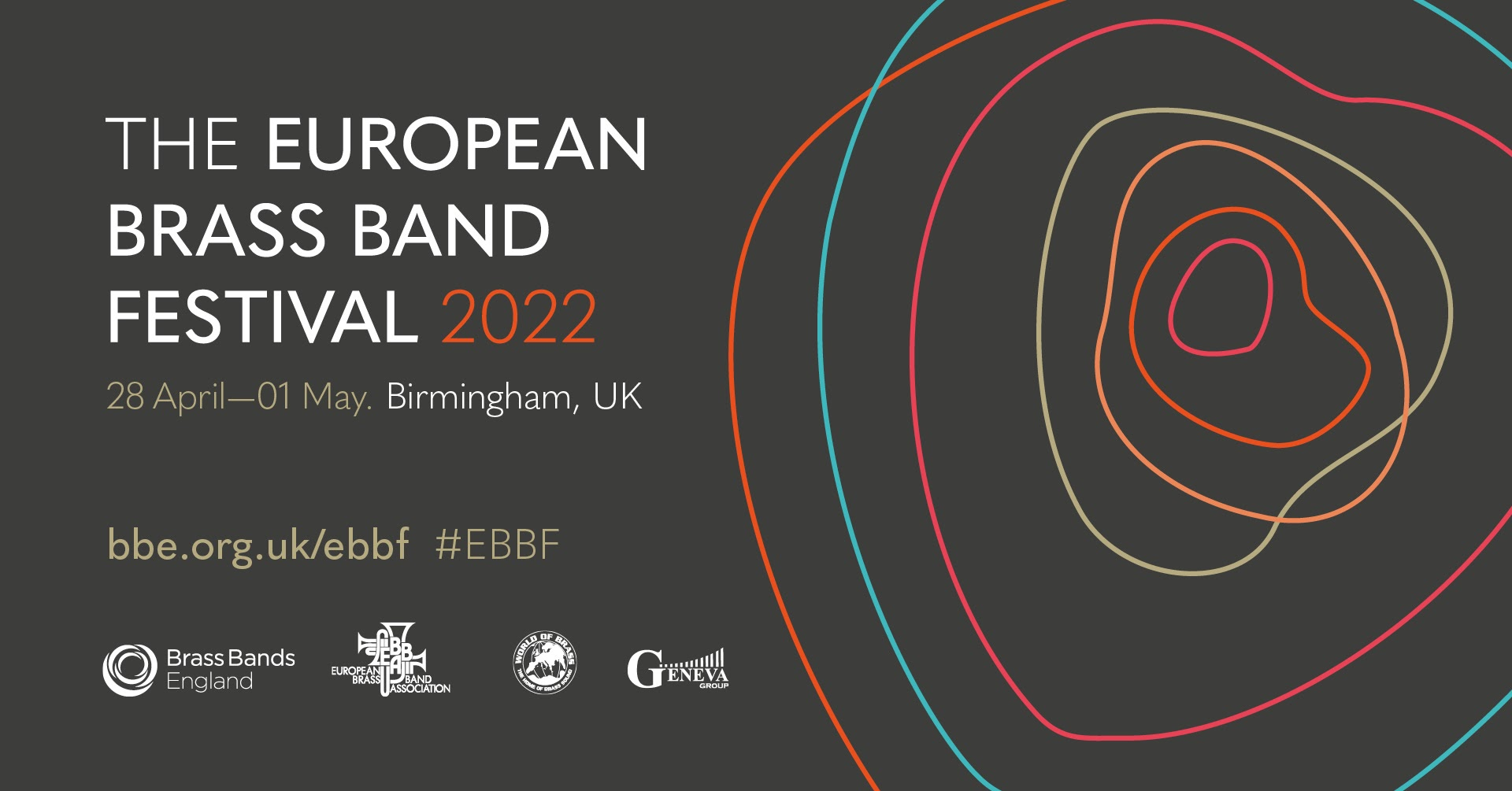 European Brass Band Championships 2022 in Birmingham, England, and festival events